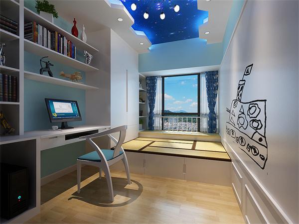 衣柜书柜一体设计有哪些技巧?衣柜书柜一体设计注意事项