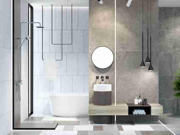 浴室隔断可使用哪些材质?装修中应注意什么?