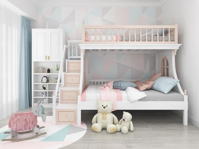 儿童家具上下床的款式都有哪些?儿童家具上下床的材质