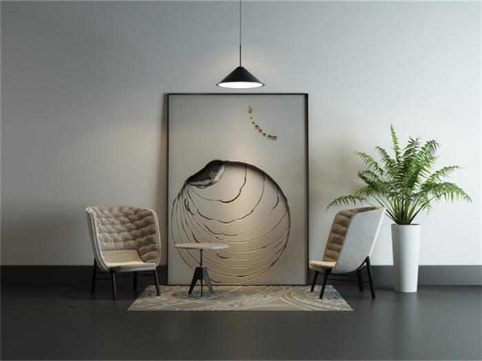 客厅挂什么画寓意比较好?