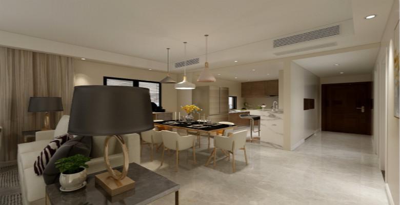 整屋案例:140平现代简约四居室,是梦想之家没错了