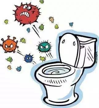 冲厕所 你家马桶盖是盖上还是立着?
