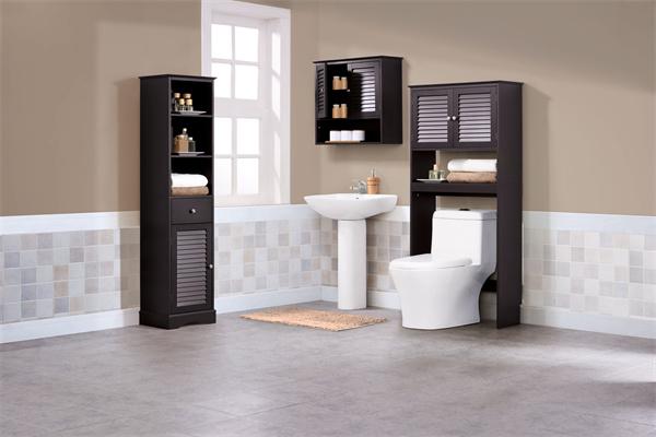 都市白领应该怎样选择PVC浴室柜?