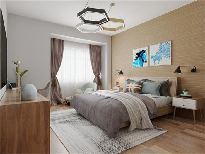 主卧室设计应注意哪些问题?主卧室功能区怎么划分?