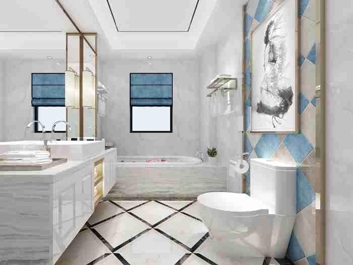 卫生间设计规范详解,标准尺寸是多少?