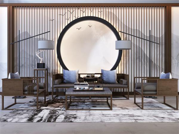 客厅装修中式风格如何设计?中式客厅布局特点有哪些?