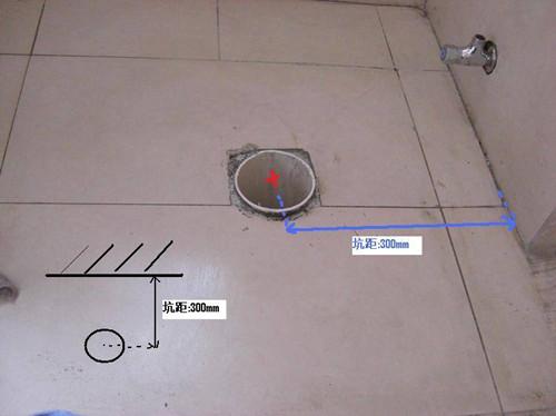什么是马桶坑距  马桶坑距如何测量