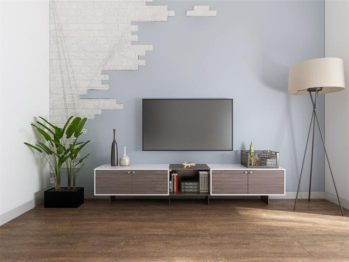 小型电视背景墙怎么设计?小型电视背景墙设计注意事项?
