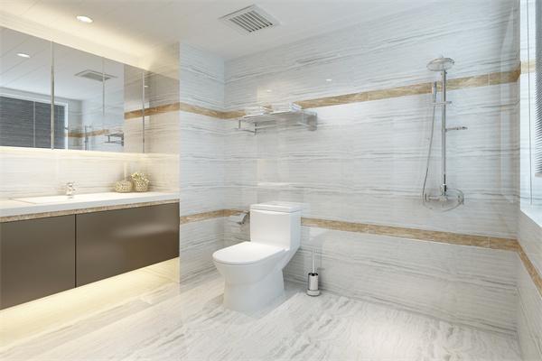 卫生间马桶背景墙如何设计?教大家几招