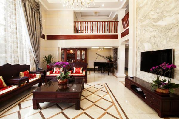 整屋案例:绝美新中式别墅,尽显东方雅韵