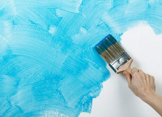 """刷墙漆必看法则:""""一底二面""""必不可少"""