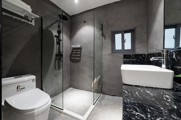卫生间干湿分离装修效果图   6种实用的干湿分离方法