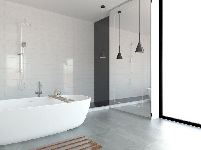 卫生间隔断处理怎么设计?卫生间隔断可用哪些色调搭配?