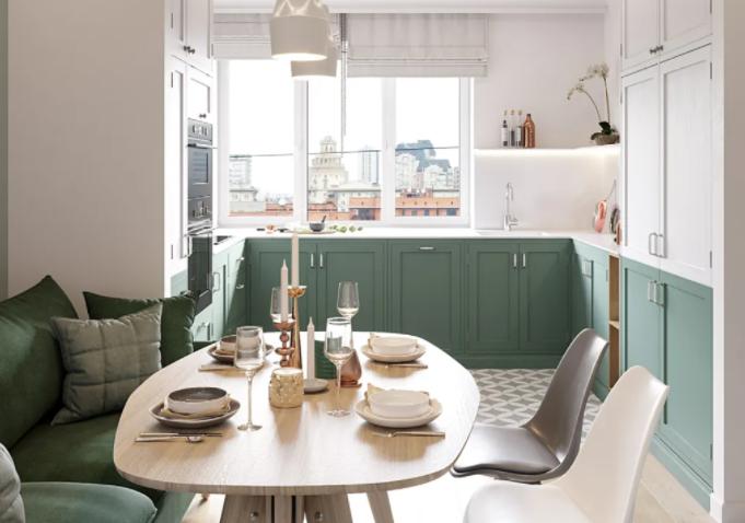 绿色配什么颜色好?让钢筋水泥之家贴近自然的温度