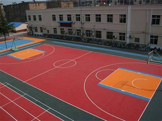 室内和室外篮球地板有什么不同 要如何去区分呢?
