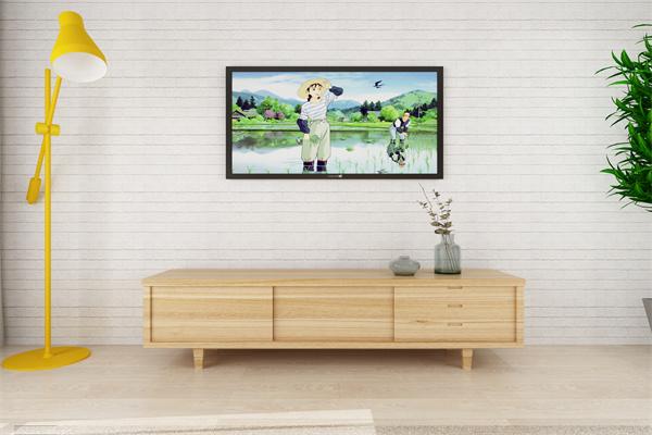 优雅自然的田园电视背景墙应该如何设计?