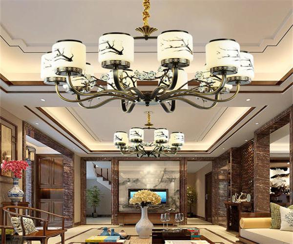 客厅布局中大厅吊灯应该怎样设置呢