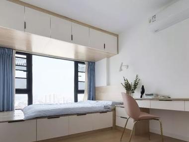 卧室省空间装修小技巧,聪明人都这样做了