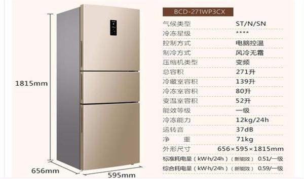 冰箱尺寸怎么选择,冰箱选购注意事项